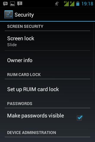 merubah cara membuka kunci layar android