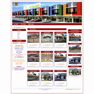 Jasa desain web properti Jakarta