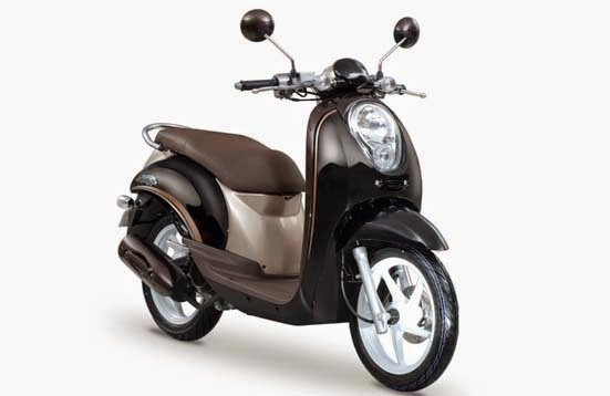 Honda Scoopy Black