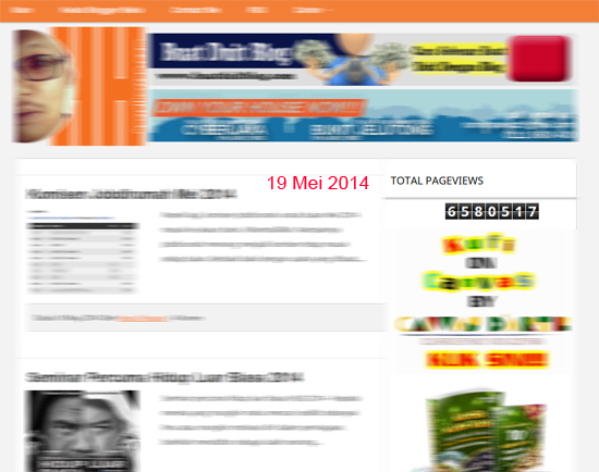 Tips 6.5 Juta Pageviews