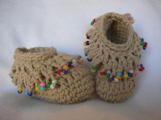 chaussons-crochet-indien-perles