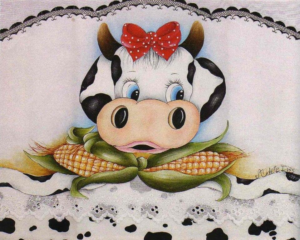 1000 images about pano de prato on pinterest folk art - Pintura de cocina ...