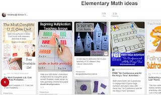 https://www.pinterest.com/kkc11/elementary-math-ideas/