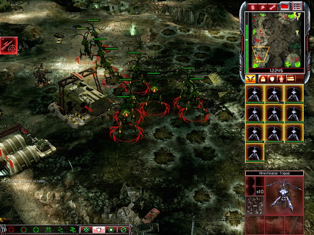 Command & Conquer 3: Tiberium Wars - Annihilator Tripods Screenshot