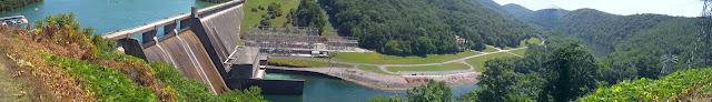 Norris Dam panorama