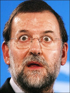 Mariano Rajoy, étonné.