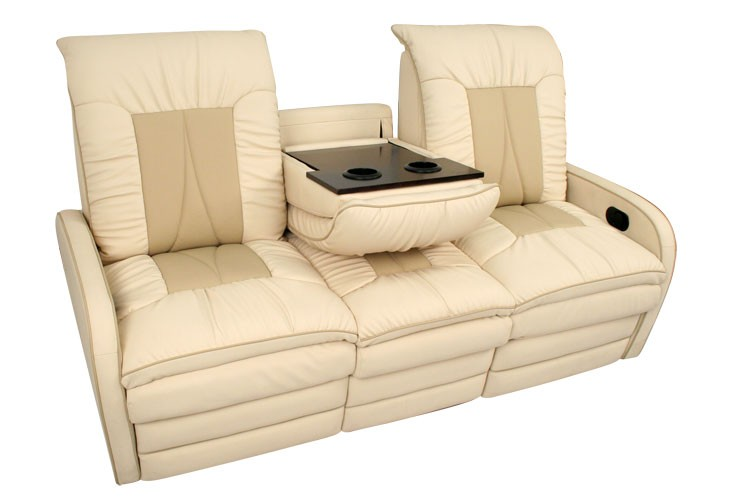 The Manhattan Is A Sofa Sleeper Which Highlights Armrests With Cupholders So That Your Drinks Can Stay Secure Against Bumpngrind Of Vehicle Movement