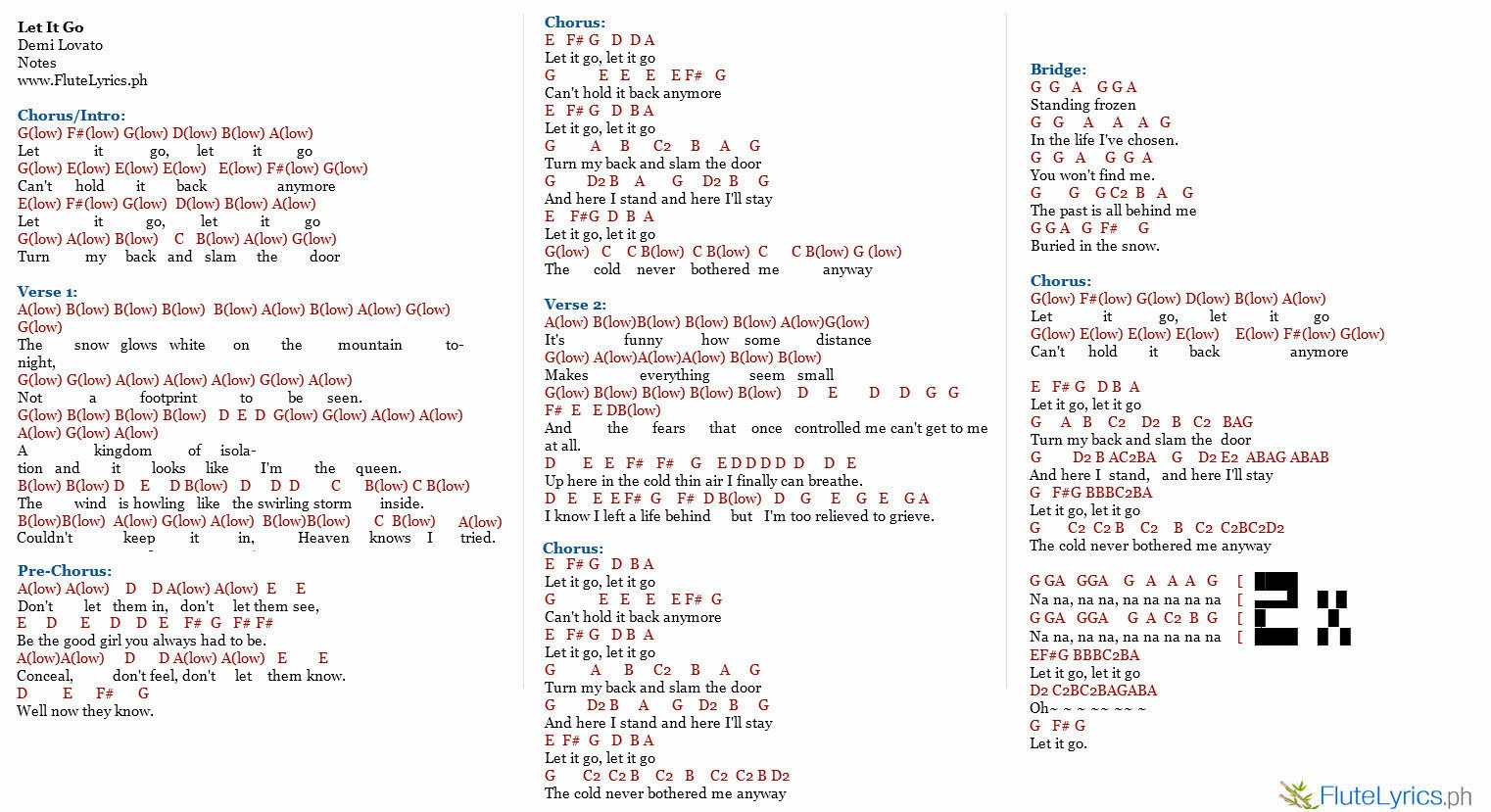"""Lyrics to 'Let It Go' by Idina Menzel. This version of """"Let It Go"""" was ..."""