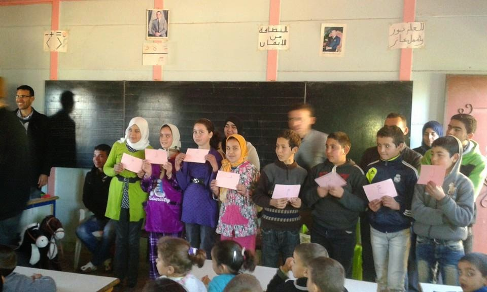 تاونات: جمعية الأمل للبيئة والتنمية بكيسان تنظم مبادرة تربوية واجتماعية لتلاميذ فرعية الرملة