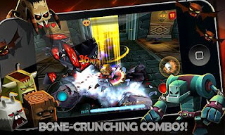 Screenshots of the TinyLegends - Crazy Knight for Android tablet, phone.