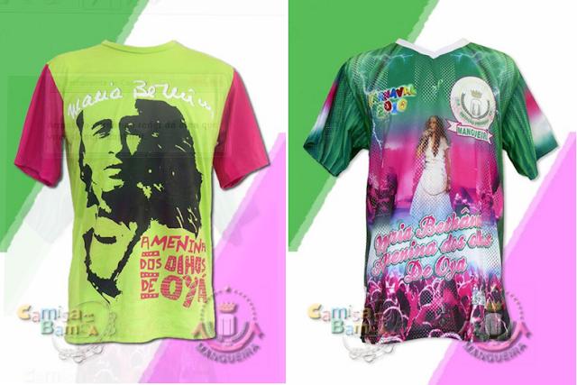 #Carnaval2016: Site vende camiseta com rosto de Maria Bethânia que será enredo da Mangueira