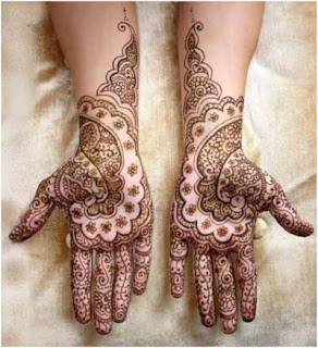 Full Hands Indian Mehndi Designs 2103