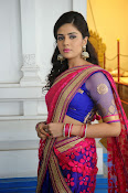 Sri Mukhi Gorgeous Half saree Photos-thumbnail-2