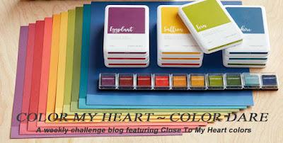 Color My Heart Color Dare