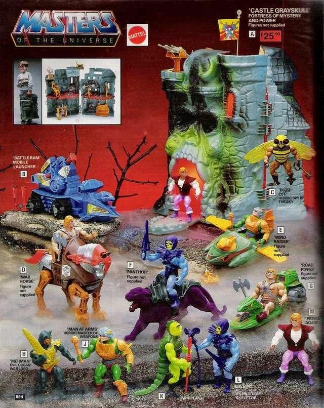 Te acordás de los muñecos de He-Man y los Amos del Universo?