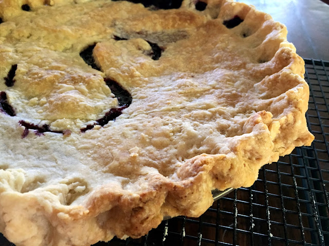 how to make blackberry pie