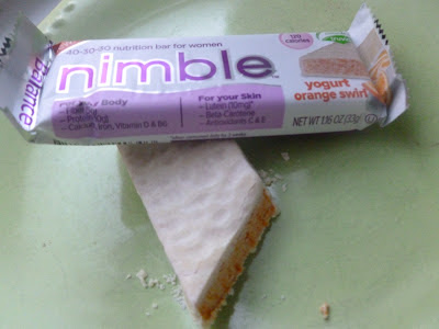 Yogurt Orange Swirl nimble bar