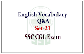 English Vocabulary Closest Meaning Questions and Answer for SSC CGL Exam