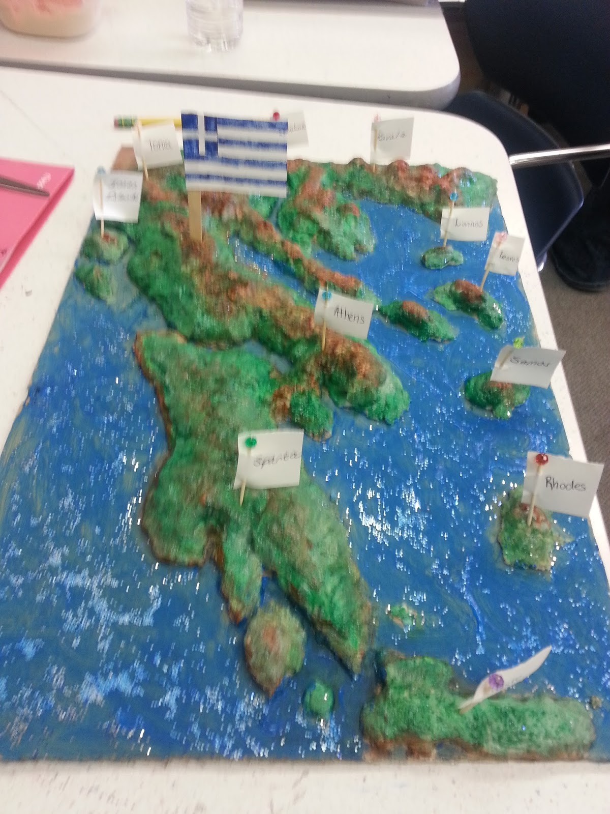 Teaching About the Arts: Salt Dough Maps