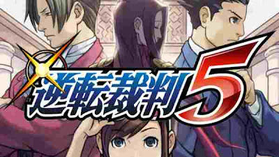 Ace Attorney 5 For 3DS