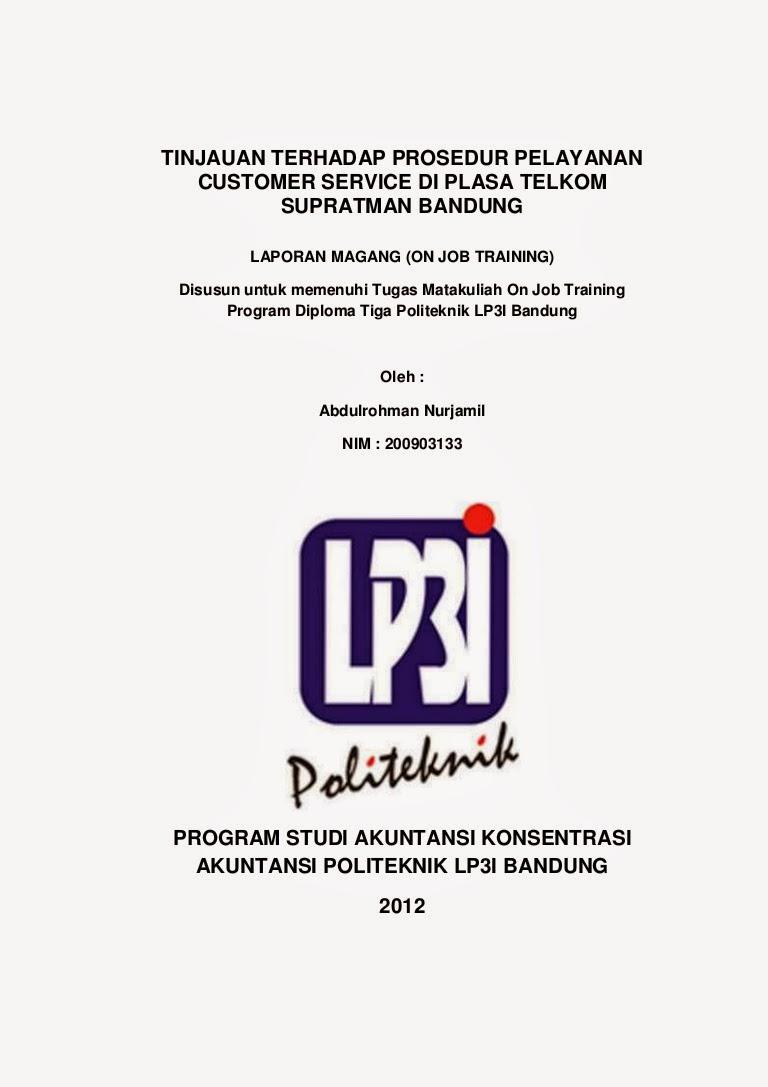 Kumpulan Makalah Kti Proposal Dan Laporan Pendidikan ...