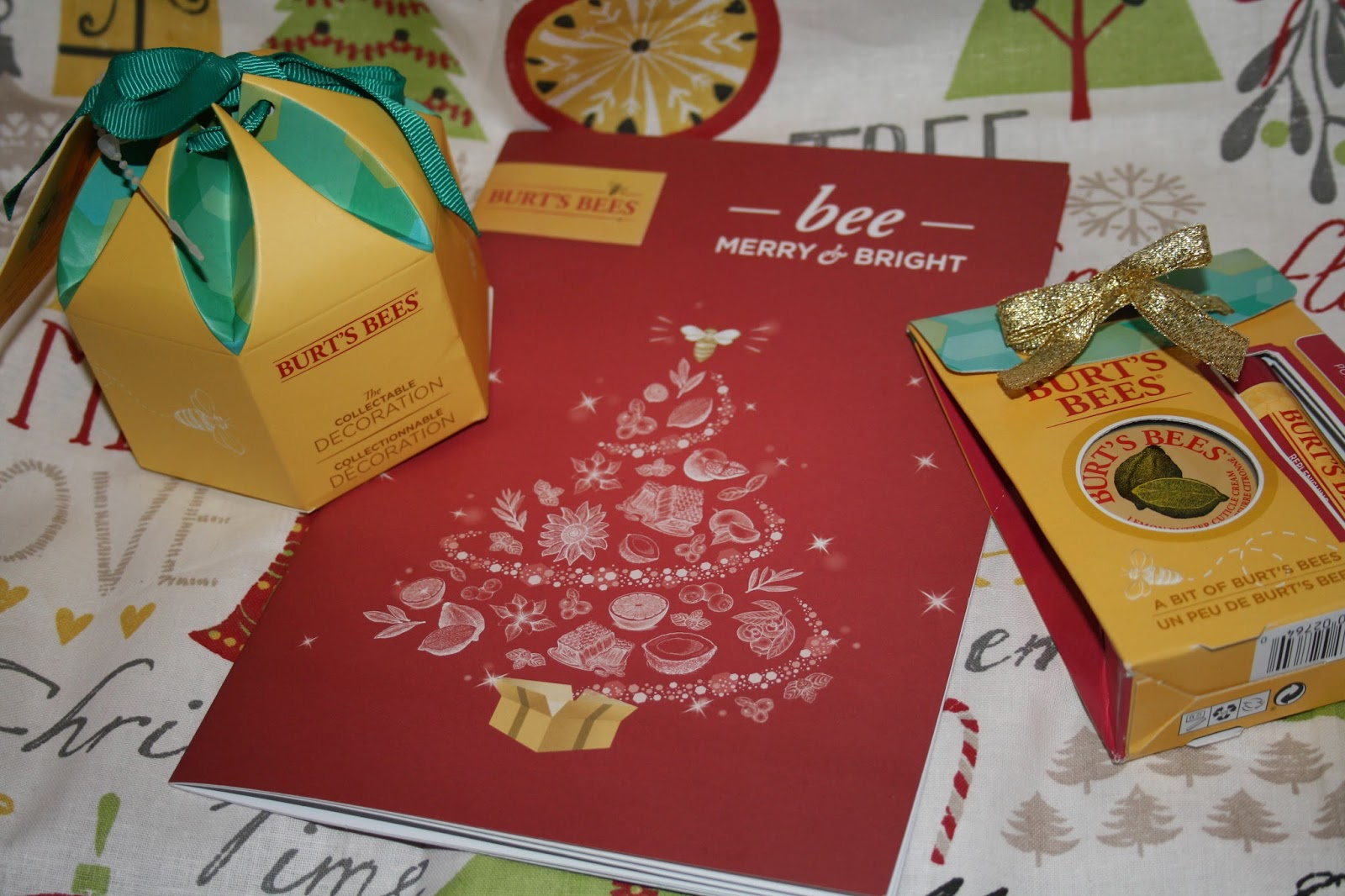 Stocking Fillers from Burt's Bees