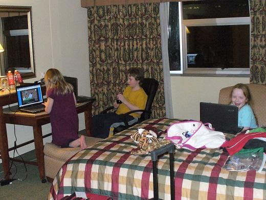 Hotel Wi-Fi overload