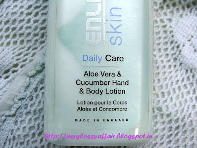 Enliven Aloe Vera and Cucumber Hand and Body Lotion