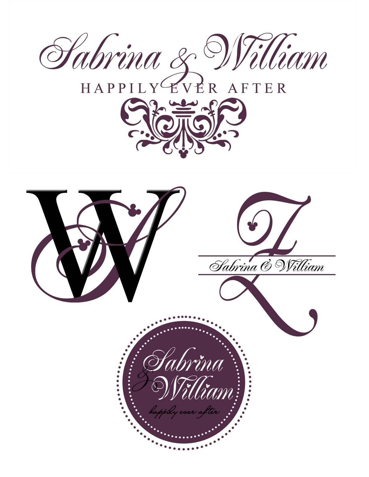 Work From Home Designing Monograms