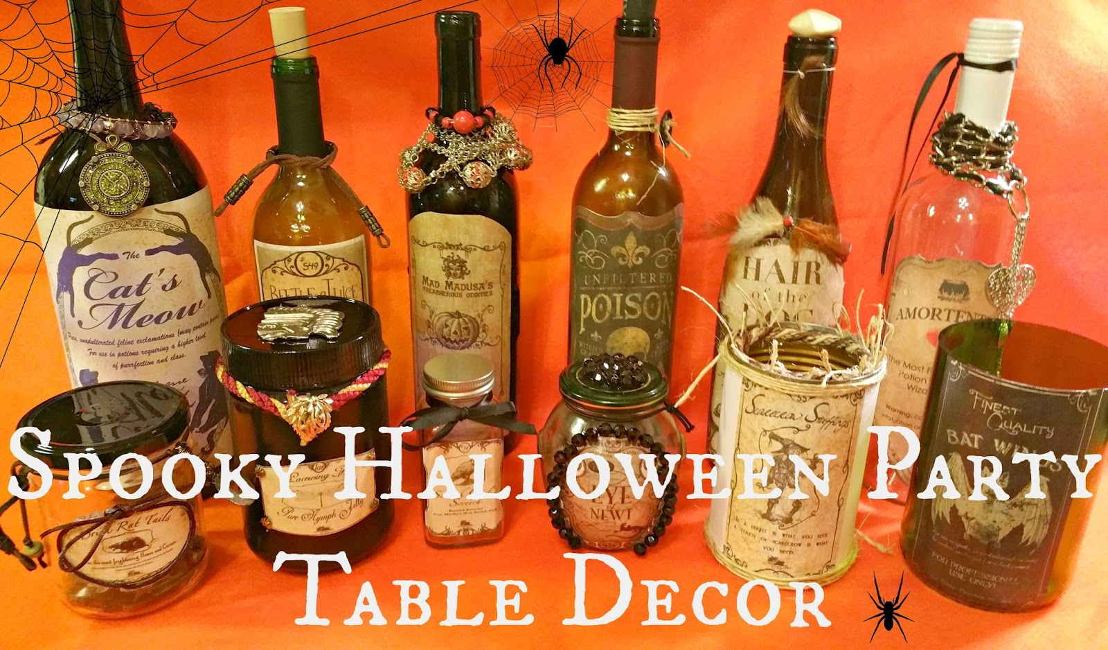 Spooky Halloween Party Table Decor | Redo It Yourself Inspirations ...
