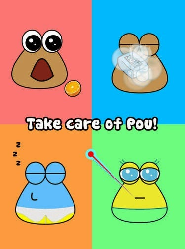 Pou 1.4.33 apk game