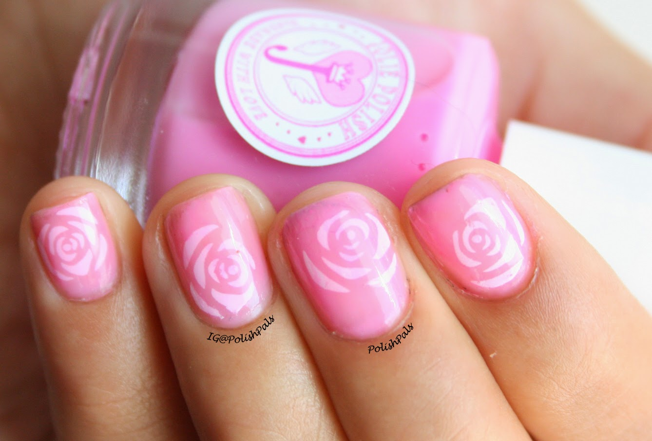 Born Pretty Store Rose Decals
