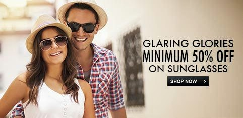 SUNGLASSES - UPTO 50% OFF