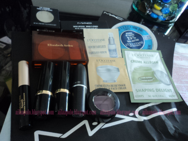 makeup and my world unwrapping bff s birthday gift l occitane