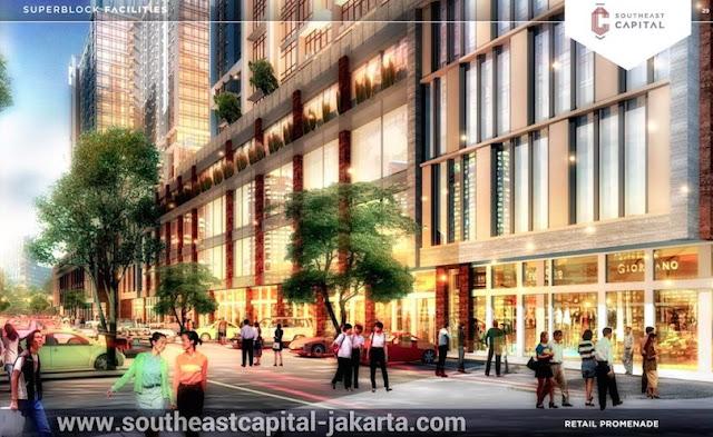 Ruko di Southeast Capital Jakarta