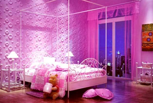 88+ Ideas Para Decorar La Habitacin En Color Rosa - Cuarto Para Bebe Color Rosa, Salones En Rosa ...