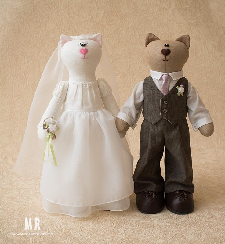 Игрушки свадебная пара