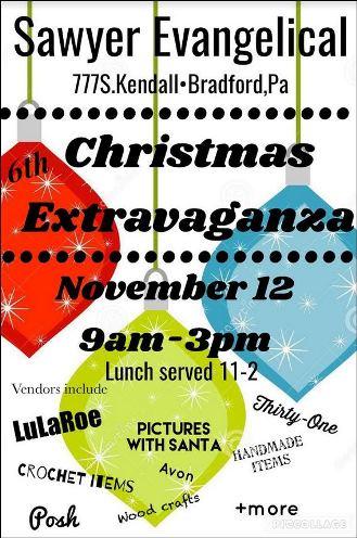 11-12 Christmas Extravaganza Bradford, PA