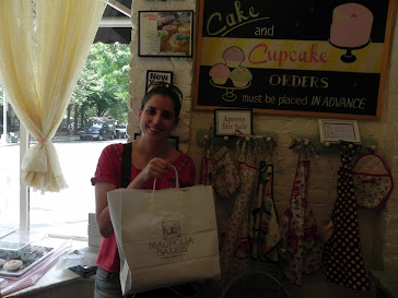 Yo en Magnolia Bakery