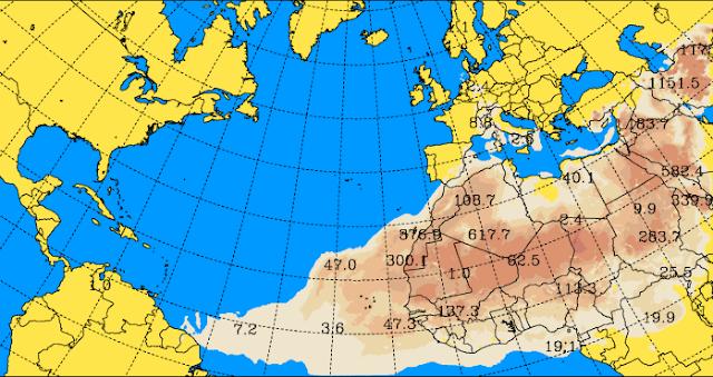 En Canarias calima hasta 2016