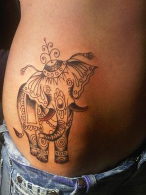 Wild tattoos wild elephant tattoos for Meaning of elephant tattoo