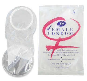 Female Condom Demonstration