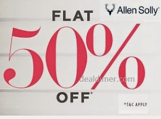 Allen Solly for Her 50% off