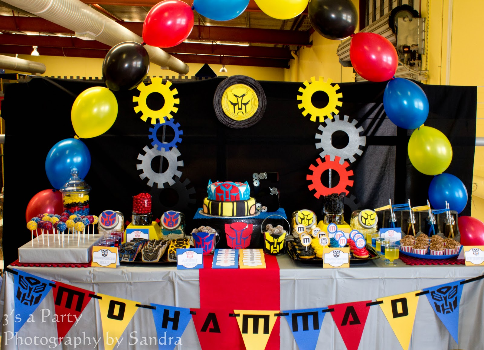 At 40 Party Decorations Similiar Transformers Party Decorations Keywords