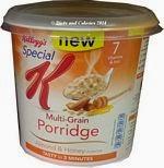 Kelloggs special k multi grain porridge almond and honey