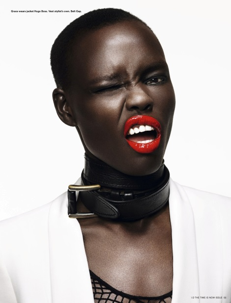 Grace Bol by William Baker for i-D