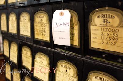 Antique Pharmacy Storage