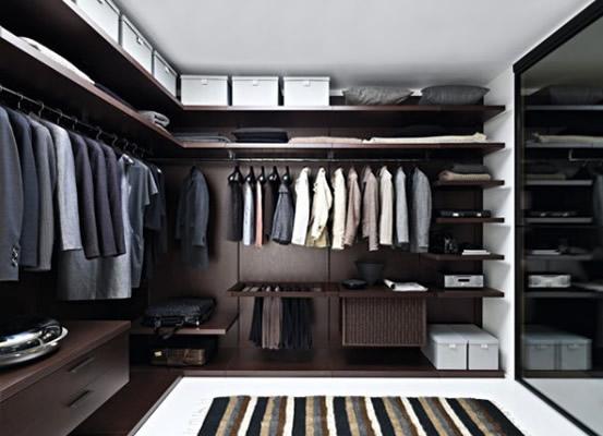 walk in closet modernos azdeco