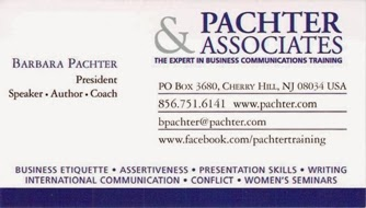 Barbara pachters blog pachters pointers january 2014 which social media addresses do i use for business include the social media addresses that help you stay in contact with your customers clients etc colourmoves