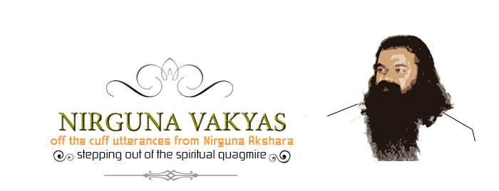 Nirguna Akshara,  Leaving Behind The Spiritual Quagmire